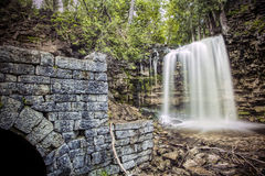 Hilton Falls Ruins Stock Photos