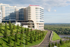 Hilton Garden Inn Hotel Images libres de droits