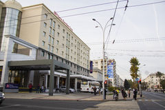 Hilton Garden Inn at Krasnodar Stock Photo