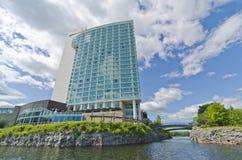 Hilton Gummilacka-Leamyhotell Gatineau, Quebec, Kanada royaltyfri fotografi
