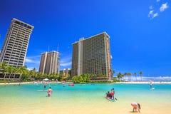 Hilton Hawaiian Village Imagen de archivo libre de regalías