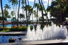 Hilton Hawaiian Village Waikiki Beach Resort Stock Image