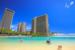 Hilton Hawaiian Village Royalty Free Stock Image