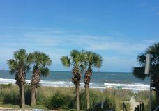 Hilton head island sc. View fro. The breakers Royalty Free Stock Photos