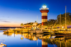 Hilton Head Lighthouse Imagenes de archivo