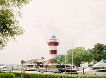 Hilton Head Lighthouse Stock Afbeeldingen