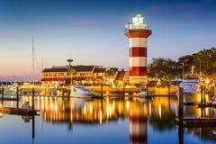 Hilton Head South Carolina royaltyfri foto