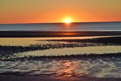 Hilton Head Sunrise photographie stock