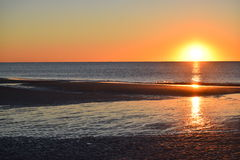 Hilton Head Sunrise Arkivfoto
