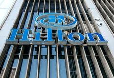 Hilton Hotel Imagem de Stock Royalty Free