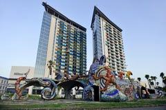 Hilton Hotel in Batumi Stock Image