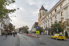 Hilton Hotel in Budapest castle district, Hungary. Stock Image