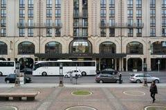 Hilton Hotel on Gendarmenmarkt Stock Photo