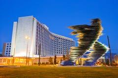 Hilton Hotel i Aten royaltyfria foton