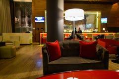 Hilton hotel interior Stock Photo