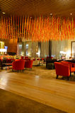Hilton hotel interior Royalty Free Stock Photography