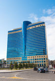 Hilton hotel. Modern buildings Royalty Free Stock Image