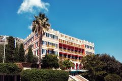 Hilton Imperial in Dubrovnik Lizenzfreies Stockbild