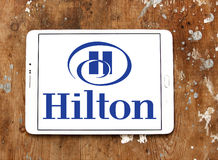 Hilton logo Royalty Free Stock Images