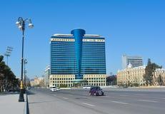 Hilton's hotel in the Baku city, capital of Azerbaijan republic Royalty Free Stock Photo