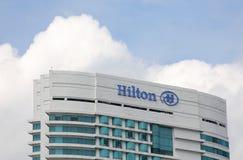 Hilton 5 star hotel. In Kuala Lumpur Malaysia stock photos