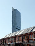 Hilton Tower manchester Stock Photo