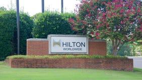 Hilton Worldwide, Memphis, TN images libres de droits