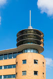 Hilversum train station tower, Netherlands Stock Photos