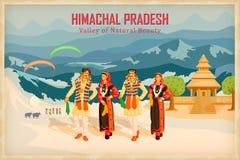Himachal Pradesh stock de ilustración