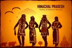 Himachal Pradesh royalty-vrije illustratie