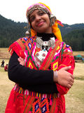 Himachali girl Stock Photo