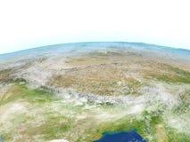Himalaja auf Planet Erde lizenzfreie abbildung