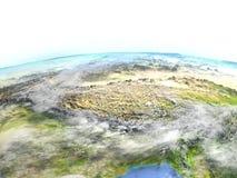 Himalaja auf Planet Erde vektor abbildung