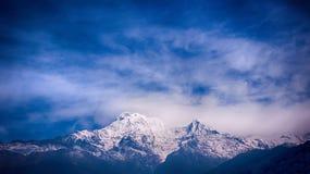 Himalaja-Berge, Nepal Stockbilder