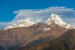 Himalaja-Berge, Nepal Lizenzfreie Stockfotos