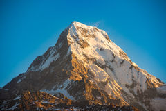 Himalaja-Berge, Nepal Stockfoto