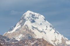 Himalaja-Berge, Nepal Lizenzfreies Stockfoto