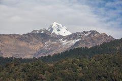 Himalaja-Berge, Nepal Stockfotos