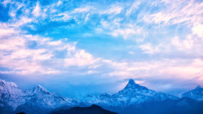 Himalaja-Berge, Nepal Stockfotografie