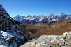 Himalaja - Cho La-Durchlauf Lizenzfreies Stockfoto