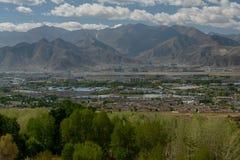 Himalaja hell mit Schönheit Lizenzfreies Stockbild