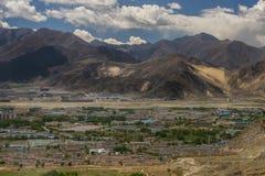 Himalaja hell mit Schönheit Stockbilder