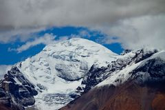 Himalaja-Reichweite lizenzfreie stockbilder
