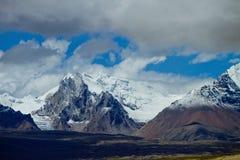 Himalaja-Reichweite stockfotos