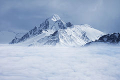 Himalaja schneite Berg Lizenzfreie Stockfotografie