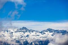 Himalaja von Nepal Stockbild