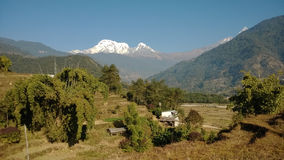 Himalajalandschaft Stockfoto