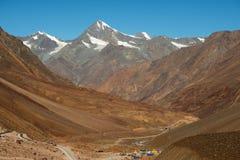 Himalajalandschaft stockbilder