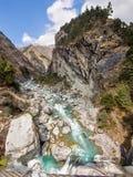 Himalajalandschaft, Everest-Region, Nepal Stockbilder