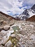 Himalajalandschaft, Everest-Region, Nepal Lizenzfreie Stockfotografie
